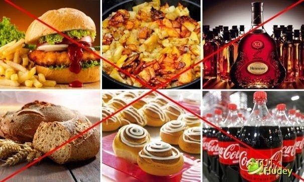 Продукты питания, которые наносят вред при наличии гипертонии