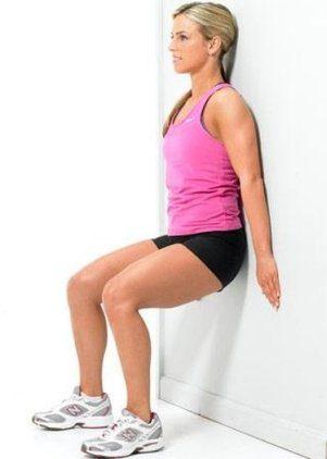упражнение стул