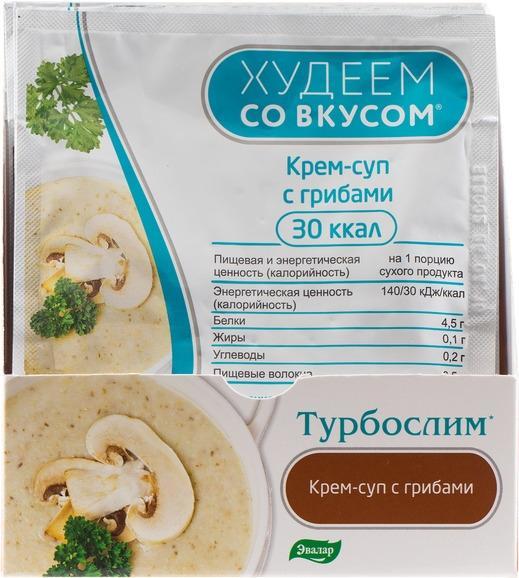 Худеем со вкусом крем-суп с грибами саше 15 г