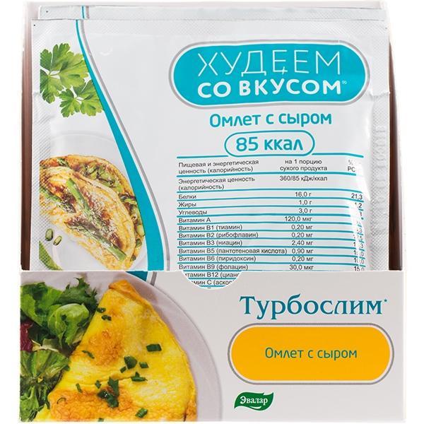 Худеем со вкусом омлет с сыром саше 24 г