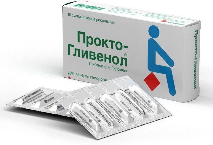 Прокто-Гливенол инструкция по применению