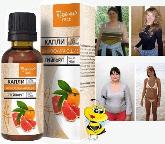 капли пчелиный спас для похудения
