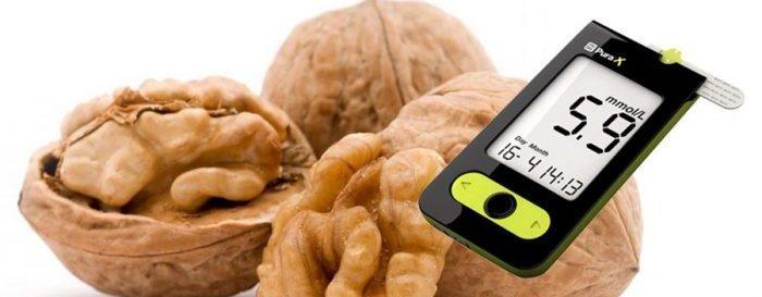 Орехи и диабет