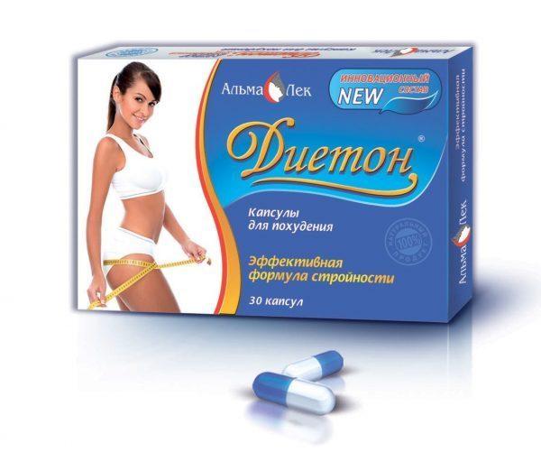Капсулы для похудения «ДИЕТОН»