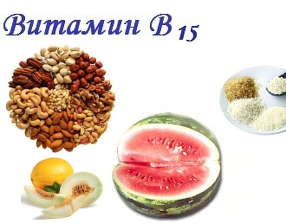 витамины B 16 продукты содержащие