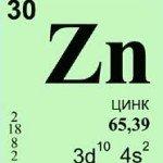 физические и химические свойства цинка