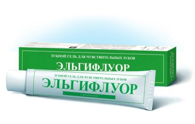 зубная паста со фтором