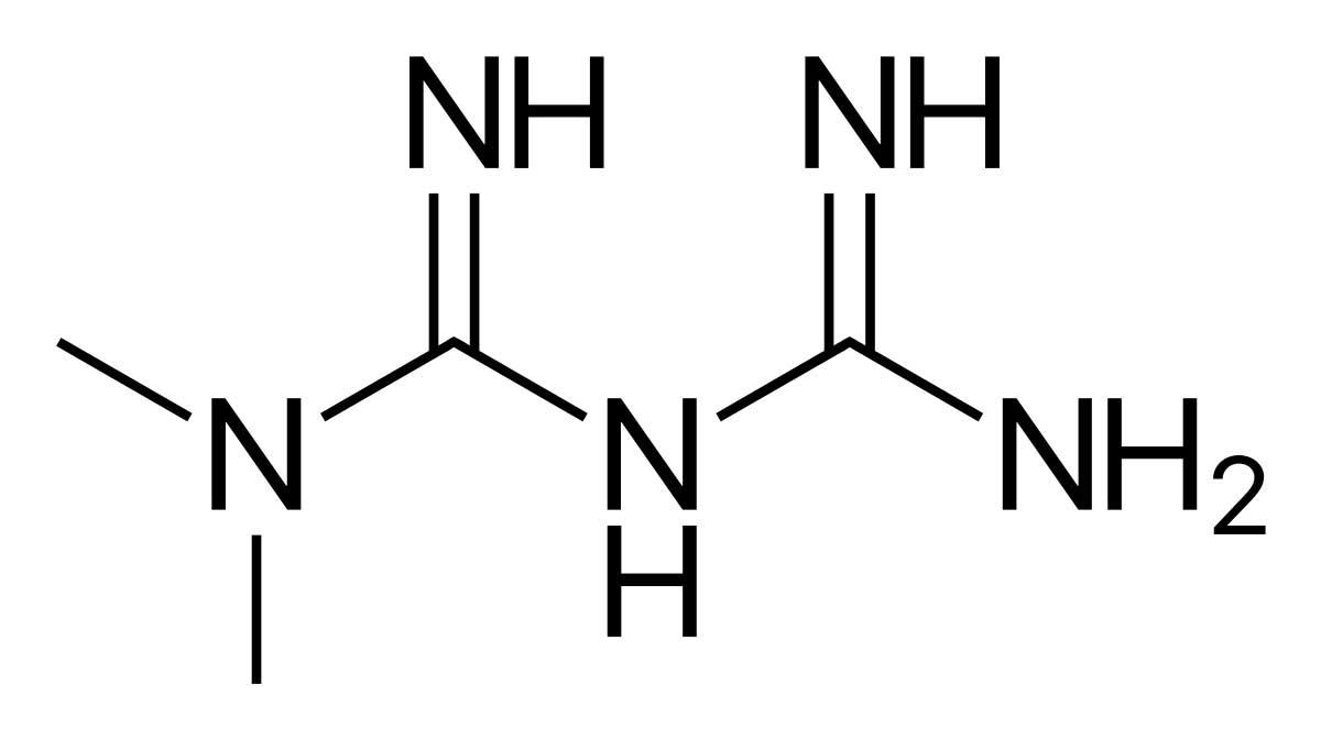 Метформин формула