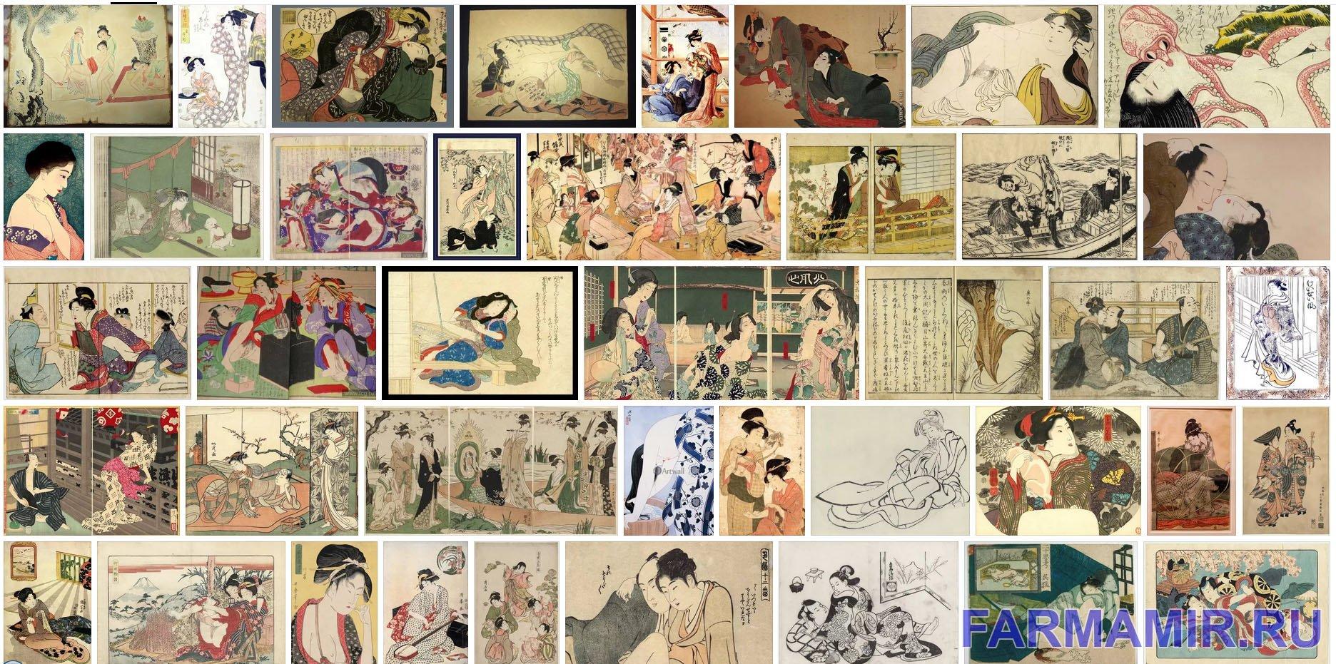японская эротическая графика