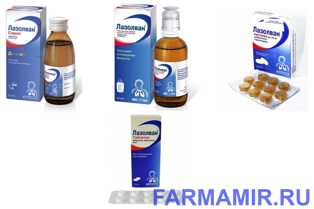 лазолвал препараты при простуде