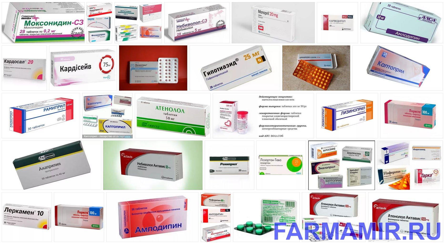 Таблетки от повышенного давления нового поколения