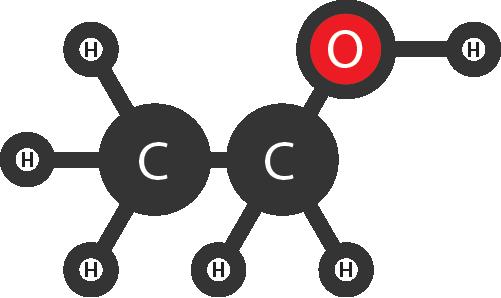 Структурную формулу этанола