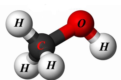 Метиловый спирт формула