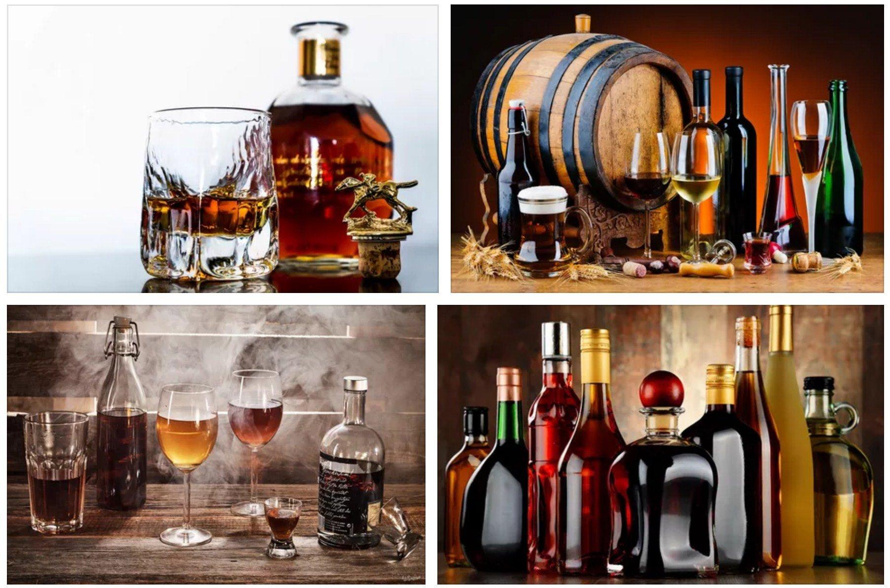 Состав спиртных напитков
