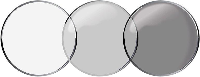 переходные (фотохромные) контактные линзы