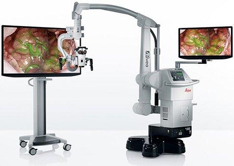 хирургический микроскоп Leica GLOW800