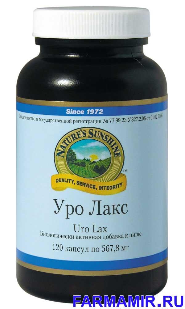 URY - Уро Лакс от НСП (лекарственные травы, витамины и минералы для мочеполовой системы)
