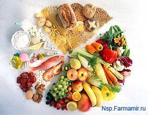 правильное питание овощи фрукты каши